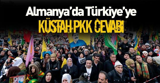 Almanya'dan PKK gösterisi hakkına skandal açıklama!