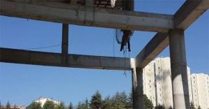 Ankara'da iskele çöktü 2 işçi hayatını kaybetti! Son dakika haberleri...