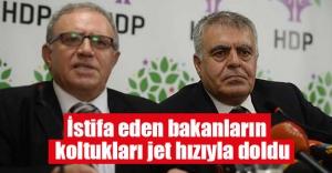 HDP'li bakanların boşalan koltukları jet hızıyla doldu!