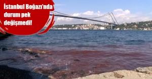 İstanbul Boğazı yine kızıllaştı!