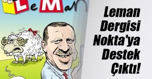 Leman'dan 'Nokta' dergisi göndermesi!