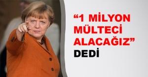Merkel'den mülteci sözü! Almanya kapılarını açıyor...