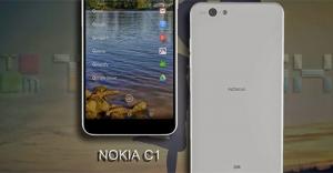 Nokia Android işletim sistemli ilk telefonu C1 görücüye çıktı! İşte Nokia C1'in teknik özellikleri...