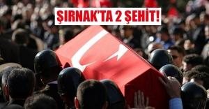 Şırnak'ta bayram günü 2 şehit!
