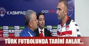 Türk futbolunda tarihi anlar! Hakem canlı yayında özür diledi...