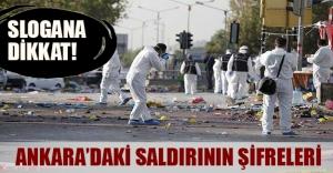 Ankara'daki saldırının şifreleri! Bombaları kim patlattı...