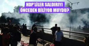 HDP'ye yakın twitter kullanıcıları patlamayı önceden biliyor muydu?