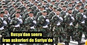 Suriye'de tansiyon yüksek! İran askerleri de Suriye'de...