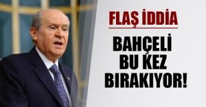 Devlet Bahçeli bu kez gerçekten istifa mı ediyor? Kulislere göre Bahçeli'nin yerine Ekmeleddin İhsanoğlu gelecek...