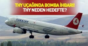 THY uçağında IŞİD paniği! Havalanan uçak ihbar üzerine acil iniş yaptı!