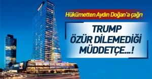 'Trump Towers' isminin değişmesi için hükümetten çağrı geldi!