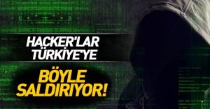 Türkiye'yi Hedef Alan Hacker'lar İşte Böyle Saldırıyor