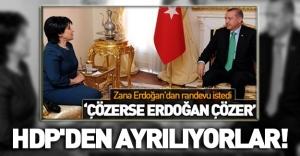 HDP'de Leyla Zana depremi !