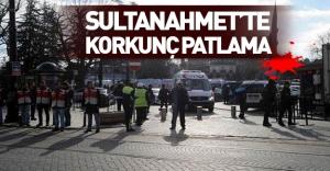 SON DAKİKA: Sultanahmet'te patlama!