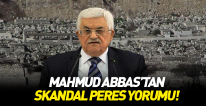 bMahmud Abbas#039;tan skandal Peres.../b