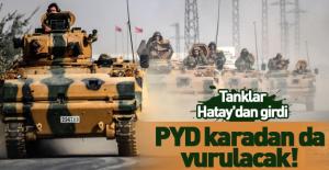 Ankara harekete geçti! PYD karadan da vurulacak!