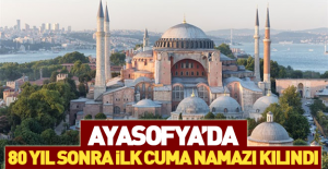 bAyasofya Hünkar Kasrı#039;nda ilk.../b