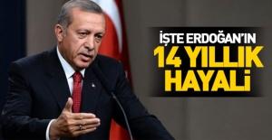 Erdoğan 14 yıldır hayali olan projeyi açıkladı