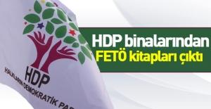 HDP binalarından FETÖ kitapları çıktı!