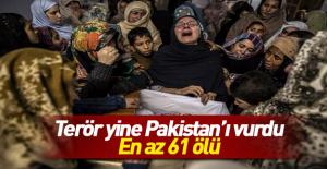 Pakistan'da polis eğitim merkezine saldırı: 61 ölü