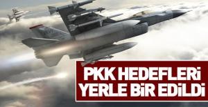 PKK sığınakları yerle bir edildi!