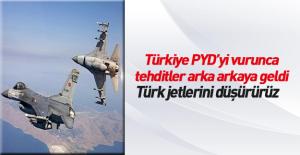 Suriye ordusu Türk savaş uçaklarını...