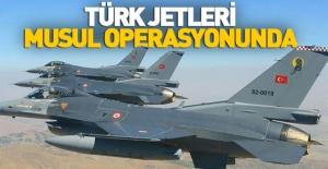 bTürk jetleri Musul operasyonuna katıldı/b