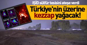 Zehirli gaz sınıra geldi! Türkiye'ye asit yağacak