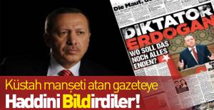 Bild Gazetesi#039;nin küstah manşetine...