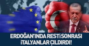 İtalya: Erdoğan sınır kapılarını...