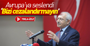 Kılıçdaroğlu AB#039;ye resmen...