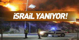 Son dakika… İsrail yanıyor: