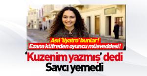 Umay Kaboğlu#039;nun küfürlü ezan...