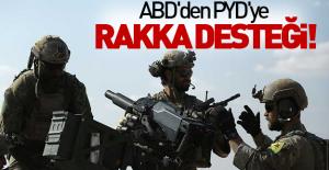 ABD'den PYD'ye Rakka desteği!