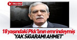 Ahmet Türk'e emirleri veren 18 yaşındaki bir çocuk çıktı!