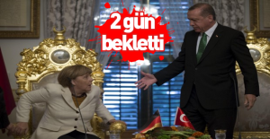 Erdoğan#039;dan 2 gün bekletti!