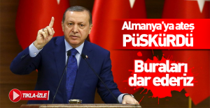 bErdoğan#039;dan Almanya#039;ya sert.../b