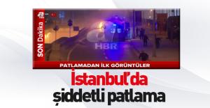 İstanbul'da şiddetli patlama