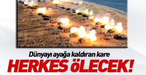 Kim'den tatbikatlı tehdit: Herkes ölecek!