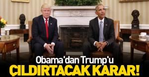 Obama'dan şok talimat!