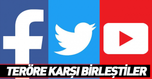 Sosyal medyanın devleri teröre karşı birleşti