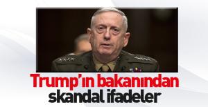 Trump'ın savunma bakanından skandal ifadeler!
