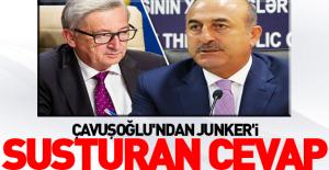bÇavuşoğlu#039;ndan Junker#039;i.../b