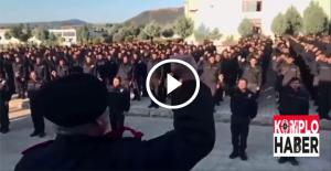Cerablus polisinden Erdoğan ve Türkiye sloganları