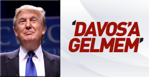 Donald Trump Davos'a katılmayacak