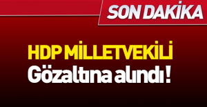 HDP milletvekili Ankara'da gözaltına alındı