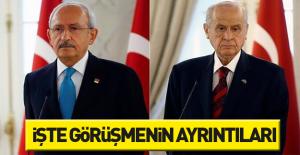 Kılıçdaroğlu-Bahçeli görüşmesinin...