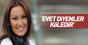 Pınar Altuğ#039;dan referandum yorumu