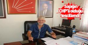 Sapığın CHP üyesi olduğu kesinleşti!