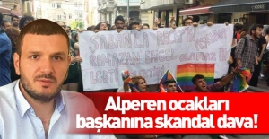 Alperen Ocakları İl Başkanı'na skandal dava!